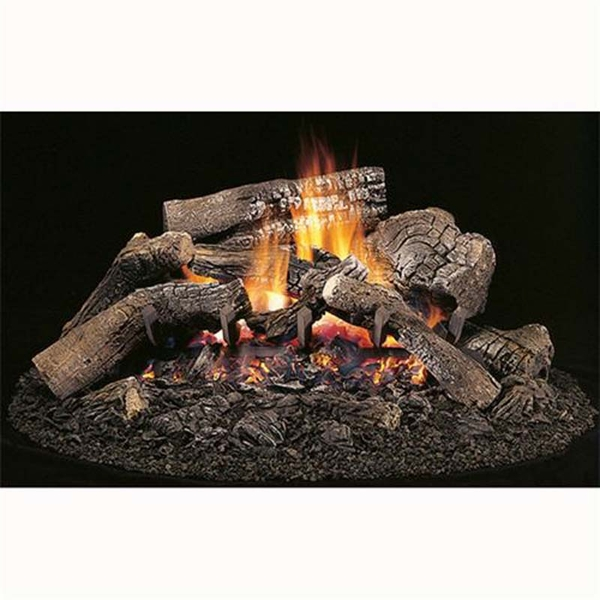 Superior Beech Mountain Unitized 18 Vented Natural Gas Log Set With Millivolt Remote Control