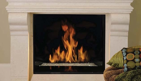 superior drc6340 signature series 40 top vent fireplace with fire rh efireplacestore com fireplace insert with fire glass fireplace burner fire glass