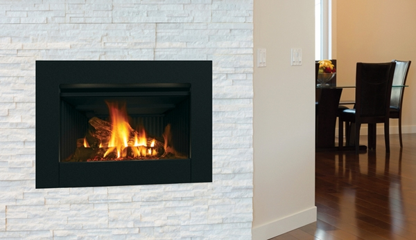 Direct Vent Gas Fireplace Insert With Electronic Ignition