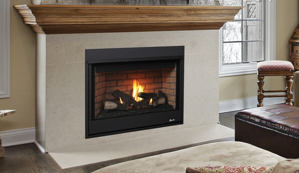 Superior Drt2035 Merit Series 35 Quot Top Vent Fireplace With