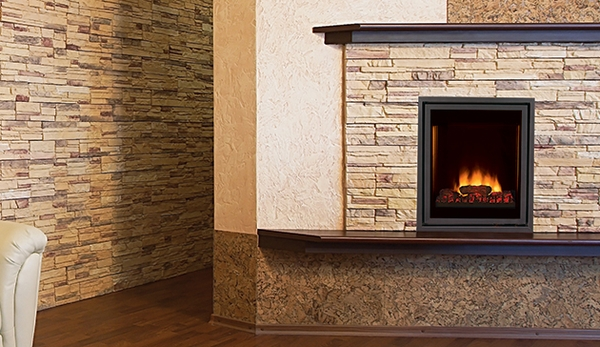 Superior Ert3027 Pro Series 27 Front View Radiant Electric Fireplace
