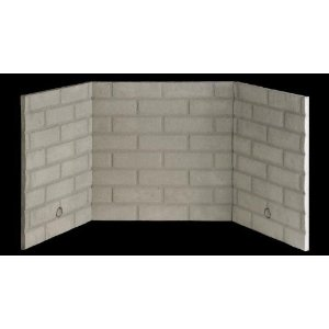 Refractory Traditional White Brick Liner for 36 Inch Value Series ...