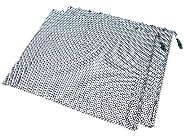 UniFlame Mesh Fireplace Screen - 24 Inch x 48 Inch Keep your fireplace area safe from harmful sparks