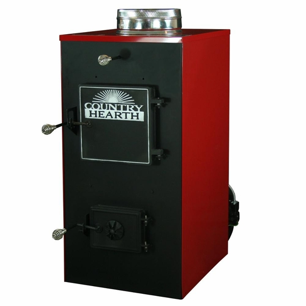 US Stove 30A Coal and Wood Burning Furnace with Twin Blowers - Stove 30A Coal And Wood Burning Furnace With Twin Blowers