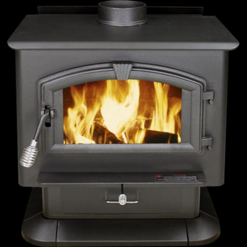 US Stove Extra-Large EPA-Certified Wood-Burning Stove - Stove Extra-Large EPA-Certified Wood-Burning Stove