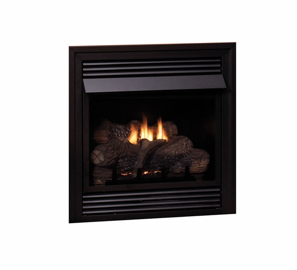 "000 BTU Vent-Free Natural Gas Fireplace - 26"" - VFD-26-FP30L10N"