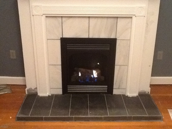 Empire Vail Vent-Free Natural Gas Fireplace - 24