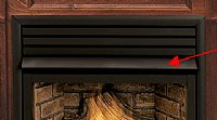 Vantage Hearth 36 Inch Black Fireplace Hood - For Direct Vent Gas ...