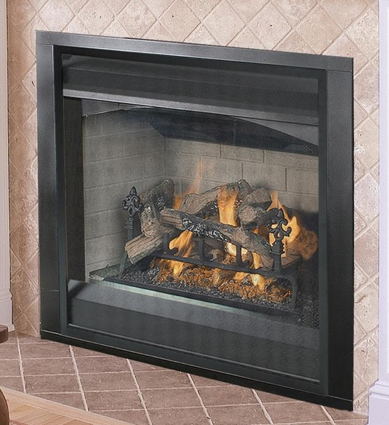 Vantage Hearth 36 Inch Upgradable Versafire Direct Vent Natural Gas Fireplace With Performance