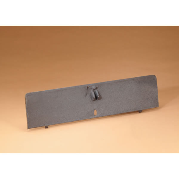 Cast Iron Fireplace Damper Plate - For 36 Inch Dampers