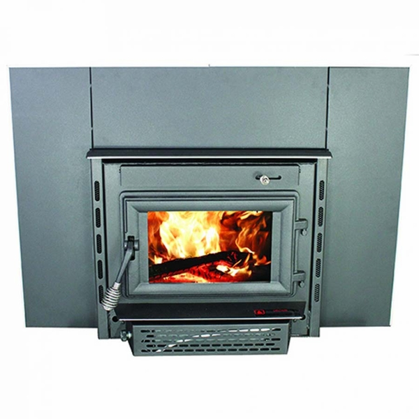 Wood Burning Colonial Fireplace Insert with Blower - TR004