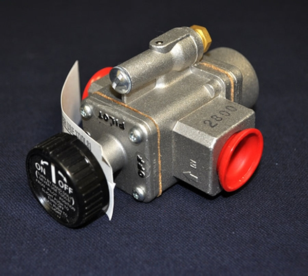 White-Rodgers High-Capacity Gas Safety Pilot Valve with Knob This safety pilot valve by White Rodgers is rated for temperatures up to 225?. It is a high capacity valve that can handle up to 142