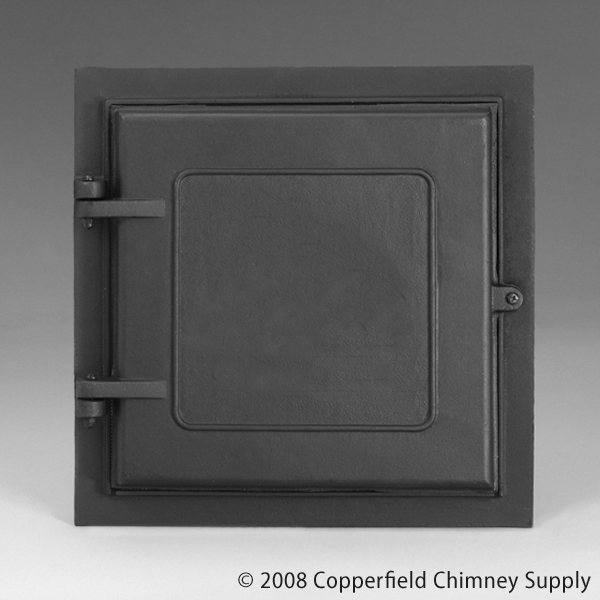 Chimney Access Panel ~ Woodfield cast iron access door inch