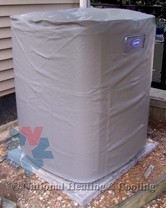 Carrier Winter Air Conditioning Cover ICC68-057 fits Carrier Condensers 24APA342 and 24APA348
