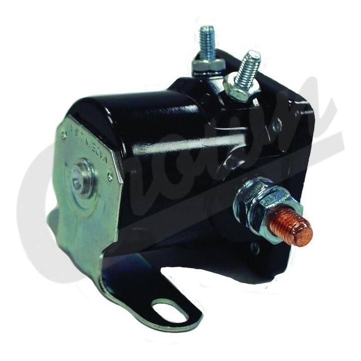 87 jeep yj ignition wiring: starter solenoid, fits 1972-87 jeep sj &