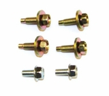 Steering Column Bolt pack, 6 Pieces, 1974-87 Jeep J10, J20, 1974-93 Jeep Grand Wagoneer. Replaces # J3196896.