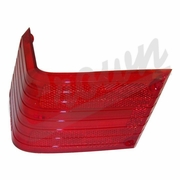 Tail Lamp Lens, Right Side