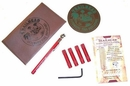 Trailhead Automatic Tire Deflator Kit, 15-40 PSI, Red, 4 Piece, Tire Deflator Kit