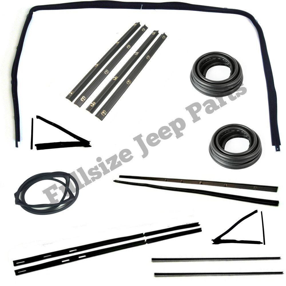 window and door weatherstrip kit for 1974