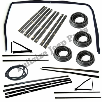 Weatherstrip Kit, 4-Door