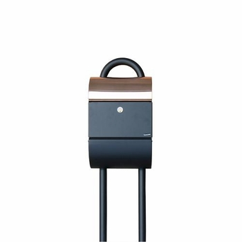 Allux 3000 Post Mount Locking Mailbox