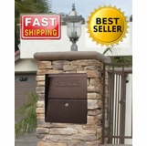 Column Mailboxes | Locking Mailbox | Brick Insert