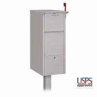 Large Capacity Front and Rear Opening Mailbox and Package Drop