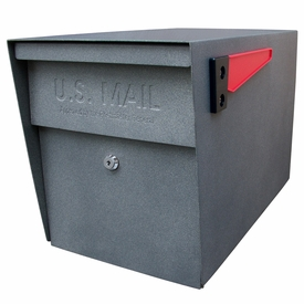 Mail Boss Locking Mailbox Granite