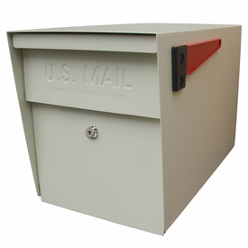 Mail Boss Locking Mailbox White