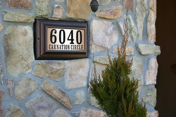Qualarc Lighted Address Plaques
