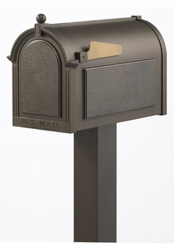 Whitehall Premium Mailbox and Post