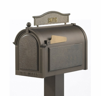 Whitehall Premium Mailbox Package with Topper