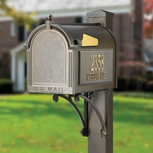 Whitehall Superior Mailbox Package Bronze