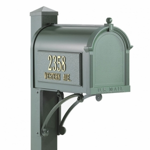 Whitehall Superior Mailbox Package Green