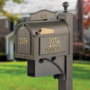 Whitehall Ultimate Mailbox Bronze