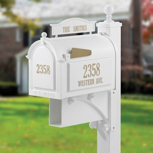 Whitehall Ultimate Mailbox White