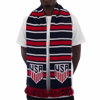 2016 USA Multi-Bar Scarf - Click to enlarge