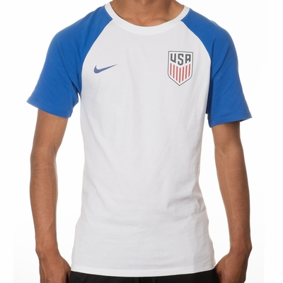 Men's Nike USA Match Tee - White - Click to enlarge