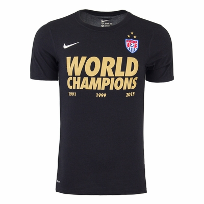 Men's Nike USWNT World Champions Tee - Click to enlarge