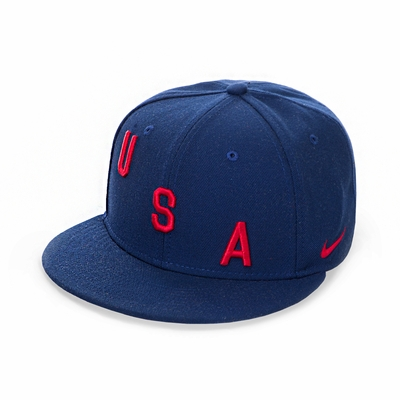 Nike USA True Squad Cap - Binary Blue - Click to enlarge