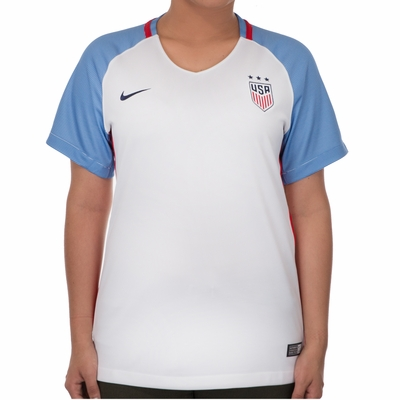 Women's Nike USA 2016/2017 Stadium Home Jersey - Click to enlarge