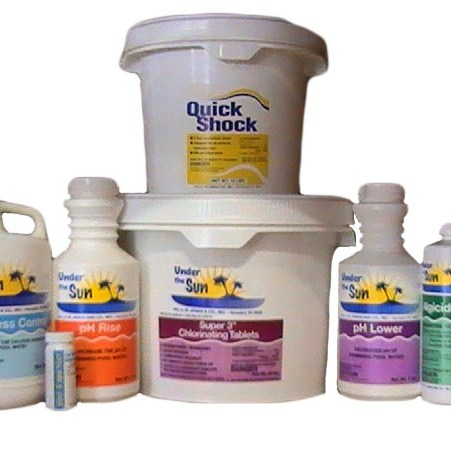 15,000 Gallon Full Season Pool Chemical Kit