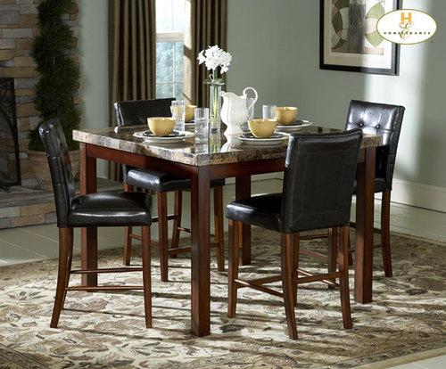 Achillea Counter Height Dining Room Table Chairs Modern