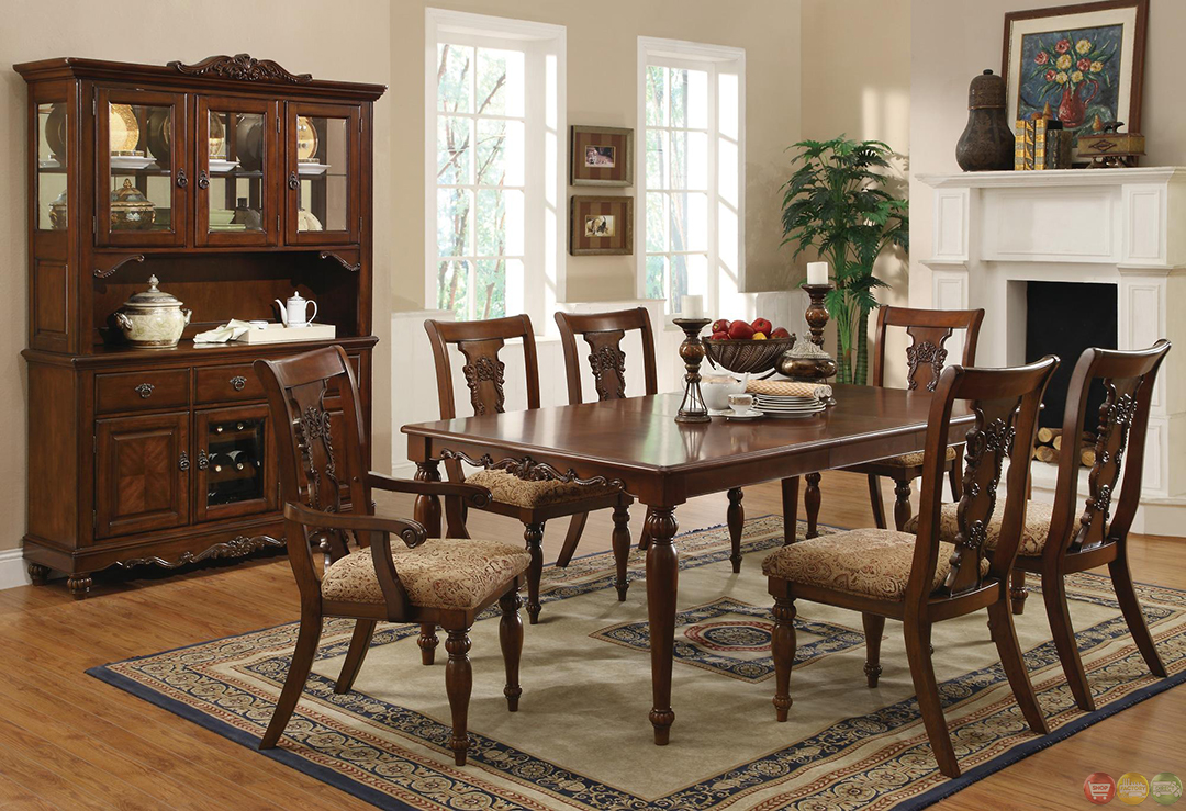 Addison Dining Transitional Dining Sets Cherry Dining