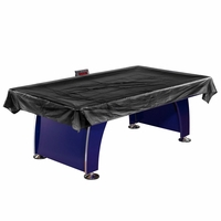 Carmelli Universal Air Hockey Table Cover in Rip Resistant Black Polyester