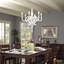 Anchor Contemporary 6-light Chandelier, White