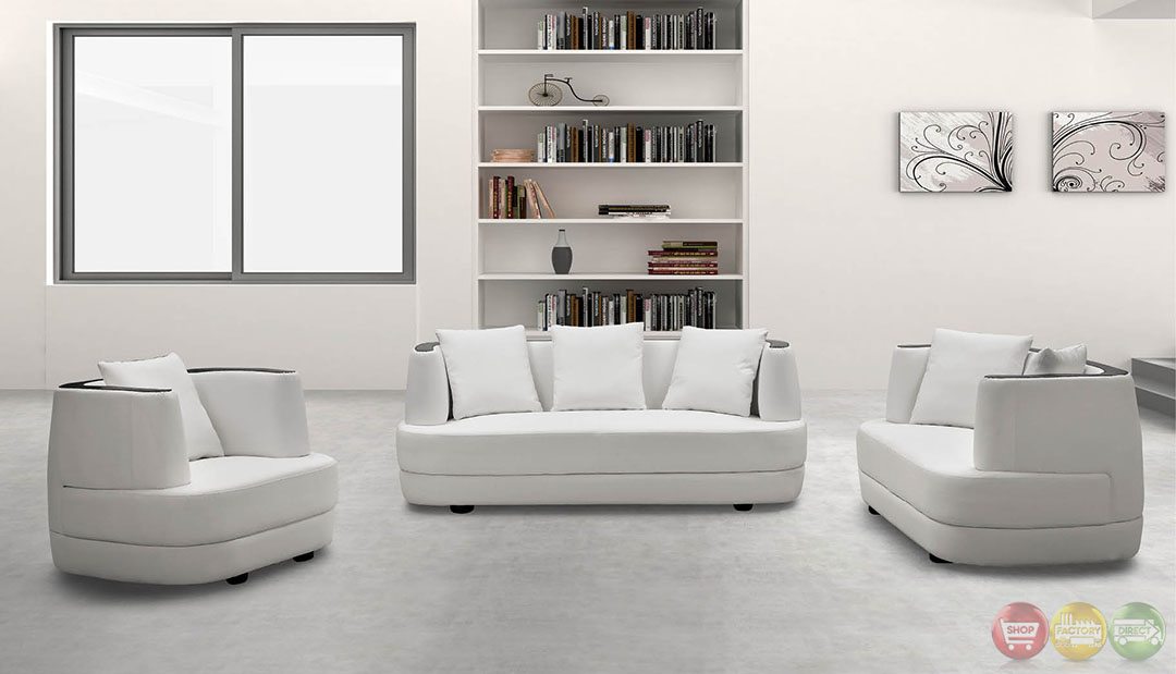 Annette ultra modern living room sets with sinious spring base rpcmo101 - Ultra modern living room ...