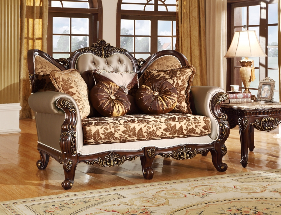 french style living room set antique style wing back sofa amp seat provincial 18568