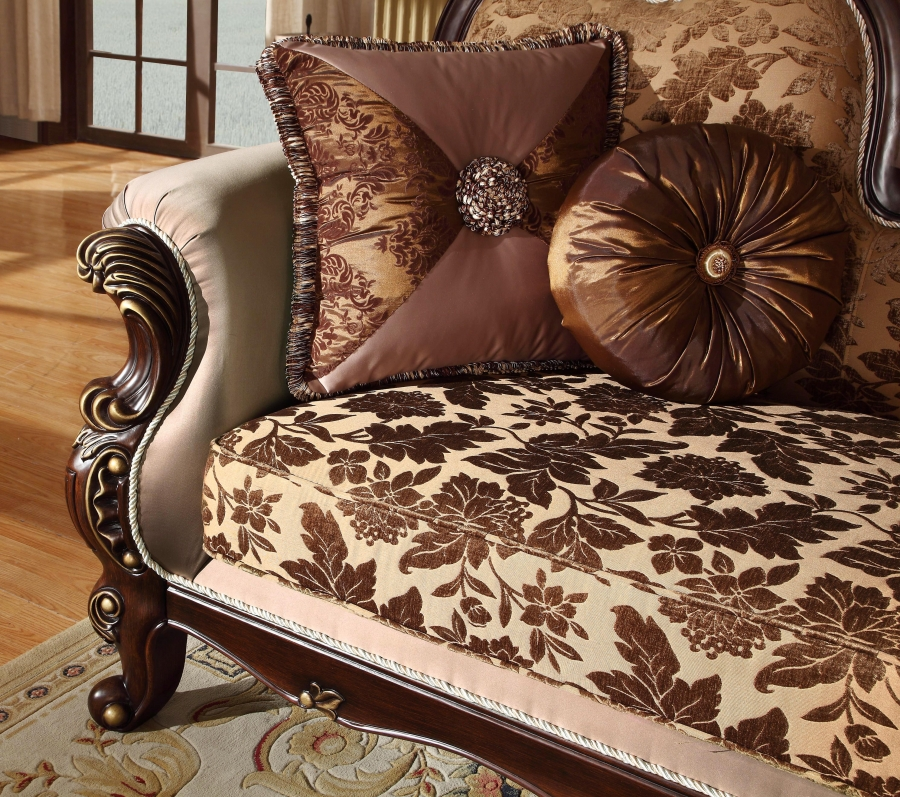 antique style wing back sofa love seat french provincial. Black Bedroom Furniture Sets. Home Design Ideas