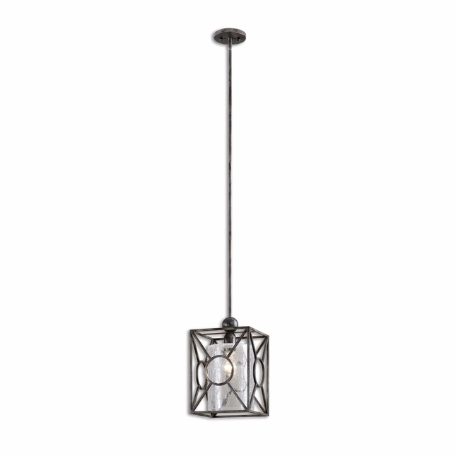 Arbela Rustic 1 Light Mini Pendant 21978